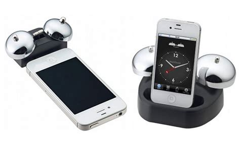 where is alarm on iphone retro iphone alarm ibell dock