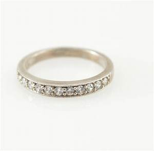 solid silver cz wedding band stackable sterling ring size With solid silver wedding rings