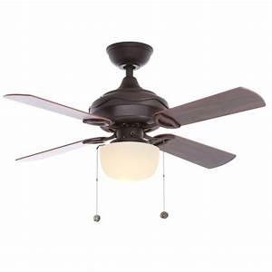 Hampton bay courtney oil rubbed bronze indoor ceiling fan