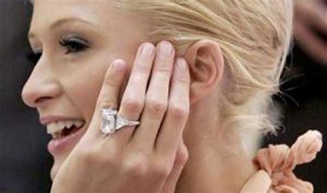 paris hilton engagement ring buy   rock