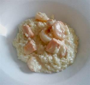 Rezepte Mit Garnelen : risotto mit garnelen lachs und sahne rezept mit bild ~ Lizthompson.info Haus und Dekorationen