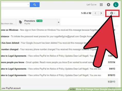 How To Change Your Gmail Background 3 Ways To Change Your Background Wikihow