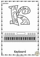 Alphabet Music Coloring Pages11 Anastasiya Studio sketch template