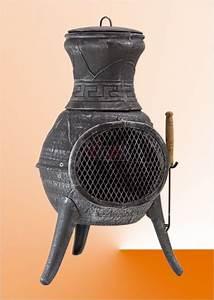 Grille Barbecue Fonte : brasero barbecue chemin e ext rieure fonte malaga grill ~ Premium-room.com Idées de Décoration