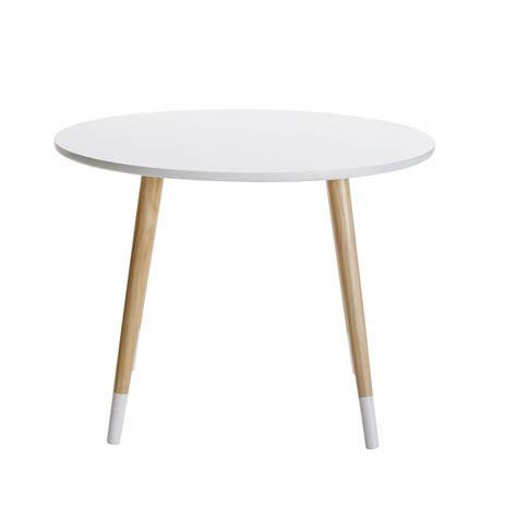 table ronde enfant table ronde enfant blanche d60 dreams maisons du monde