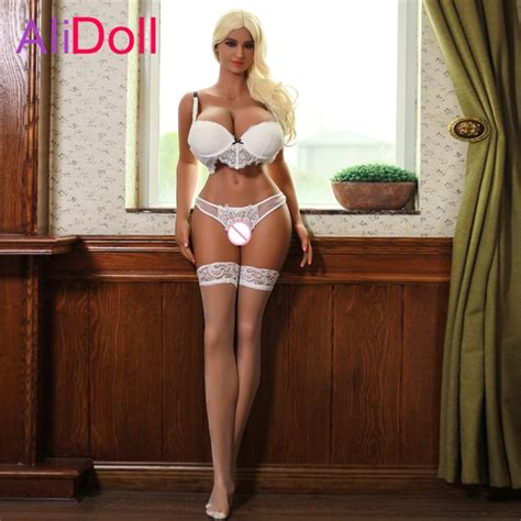 Alidoll 170cm 557ft Super Big Breast Real Silicone Sex Dolls For Men Tpe Anal Tall Sex Rubber