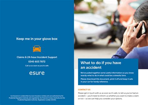 When you cancel a car insurance policy, you'll usually have to pay a fee. esure's Accident Help Leaflet   esure