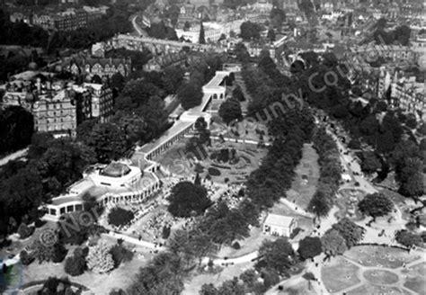 harrogate valley gardens aerial view