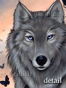 silver wolf  jasmine ann becket griffith  gallery