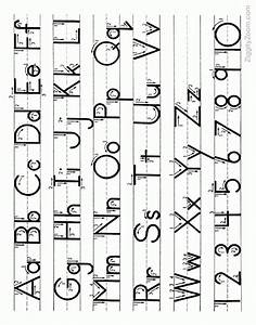 capital letters and small letters alphabet sample letter With small case letters