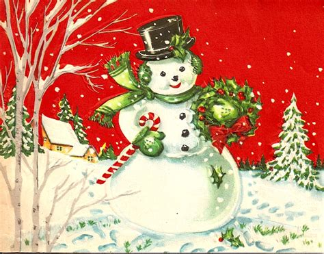 vintage traditional christmas card vintage christmas card a photo on flickriver