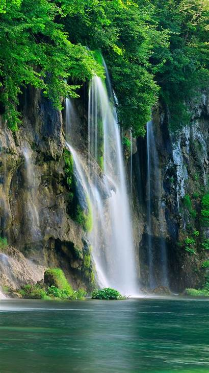 Iphone Waterfalls Waterfall Wallpapers Alliphonewallpapers