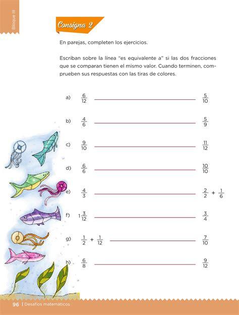 desafios matematicos libro  el alumno cuarto grado    pagina  de