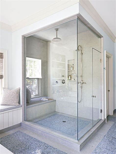 A Walk In Shower by Building A Walk In Shower Better Homes Gardens