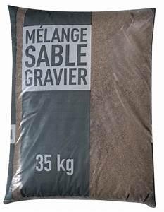 Big Bag De Sable : m lange sable et gravier pour b ton sac de 35 kg brico d p t ~ Dailycaller-alerts.com Idées de Décoration