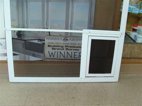 diy patio pet door sliding screen doors and swinging screen doors installation