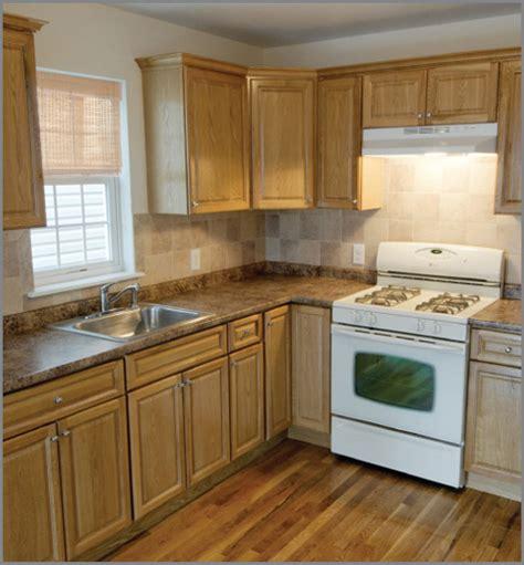 color exle of light oak cabinets with light med granite