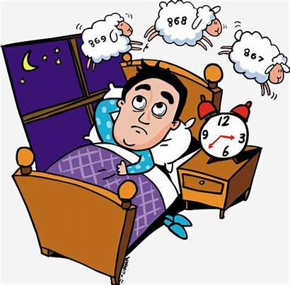Insomnia Clipart Sleep Bed Late Rise Am