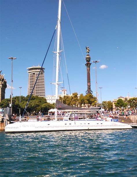 Catamaran Barcelona Barcelona by Barcelona Sailing Charter Barcelona Boat Rentals