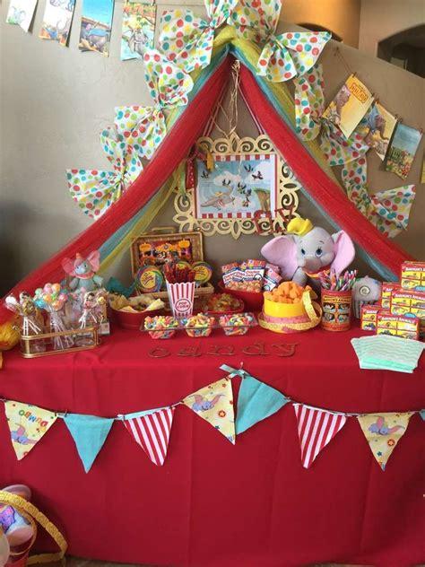 Dumbo Circus Birthday Party Ideas  Pinterest Circus