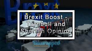 Brexit Boost - Turnbull And Shorten Opinion