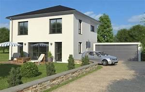 Einfamilienhaus Mit Garage : referenzen visualisierung ~ Eleganceandgraceweddings.com Haus und Dekorationen