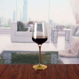 metal stem red wine cup gold stem wine glasses large