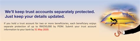 Plan details, limitations and exclusions are. PIDM - Trust Accounts