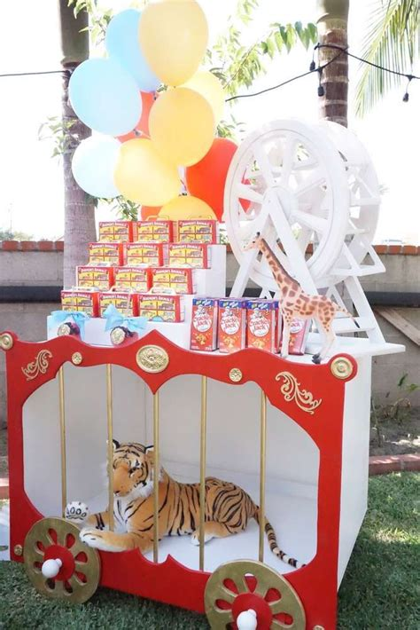 circus birthday party ideas   party favors