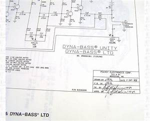 Peavey Dyna-bass Unity Ltd Preamp Schematic And Diagram