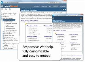Help manual the most popular help authoring and for Web documentation software