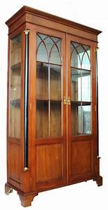 Vitrine Biedermeier Kirsche Massiv QuotHolzquot