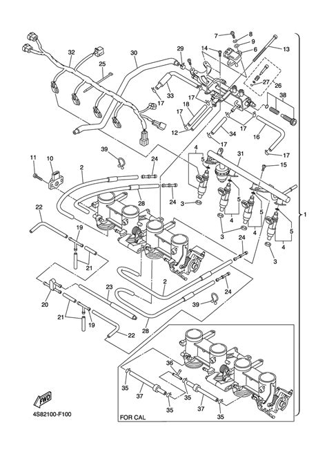 2008 Yamaha R6 Wiring Diagram Part by 2007 Fz6 Parts Reference Diagram Images X46