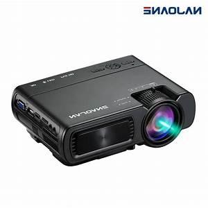 Full Hd Mini Portable Projector  1080p Led Projector