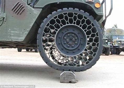 Polaris Airless Tires by Reinventing The Wheel Forget Punctures American Firm