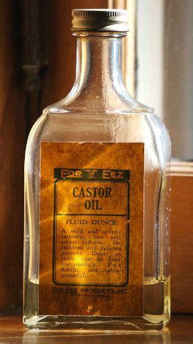 side effects  castor oil eat