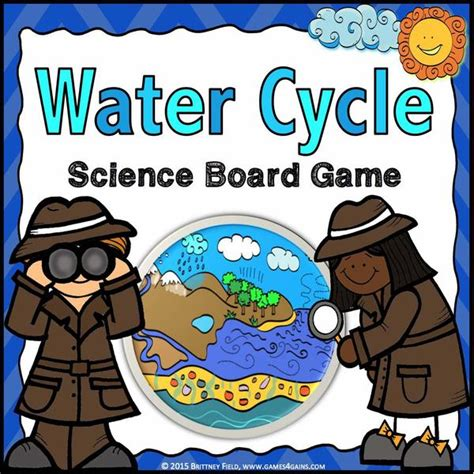 water cycle board game games  gains