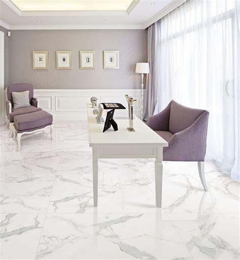 24x24 white porcelain tile calacatta gold gani marble tile 3843