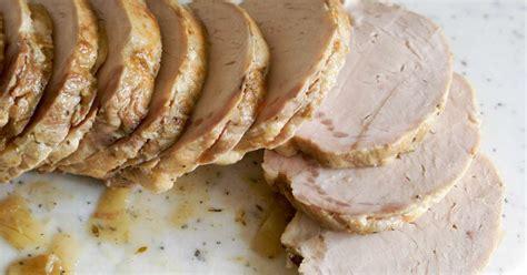 cuisiner roti de porc rôti de porc recette du rôti de porc cuit sous vide à basse température recette par chef simon