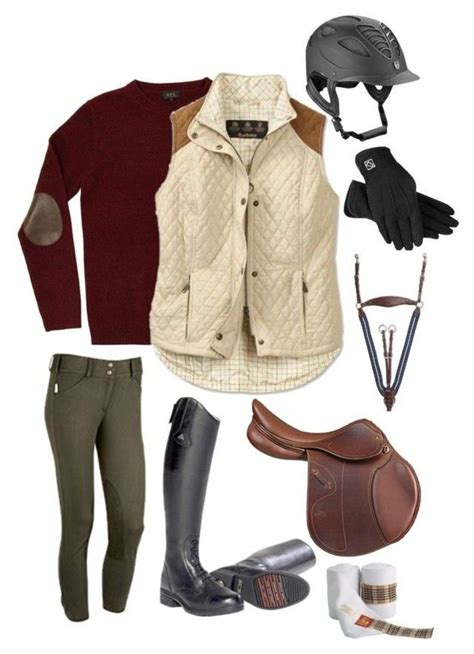 outfits riding equestrian horse polyvore outfit clothes boots horseback clothing horses kathy andy fall ecuestre barbour montar leggings equine proper