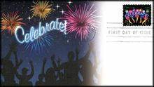 4502 44c Neon Celebrate 2011 Fleetwood FDC First Day