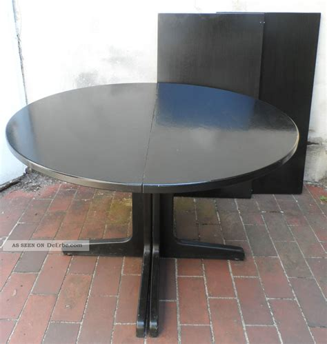 tisch rund schwarz 1 antiker thonet tisch rund 1978 esstisch schwarz holz ausziehbar auf 230cm