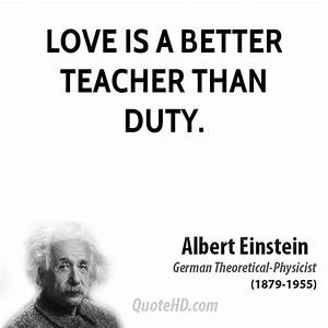 ALBERT EINSTEIN QUOTES ABOUT LOVE image quotes at ...