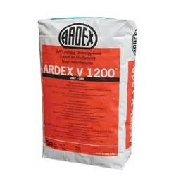 ardex v 1200 self leveling flooring underlayment ardex concrete products