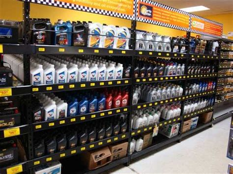 Oil Rack Display | Handy Store Fixtures