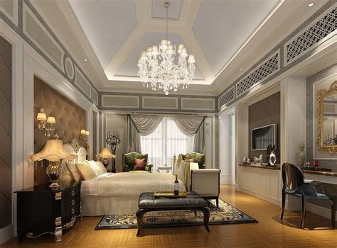 Luxury Designs : Glamorous Bedroom With Luxury Accent On Its Decoration
