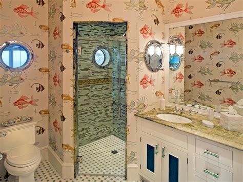 Ocean Themed Bathroom Decorating Ideas by Fish And Mermaid Bathroom Decor Hgtv Pictures Amp Ideas Hgtv