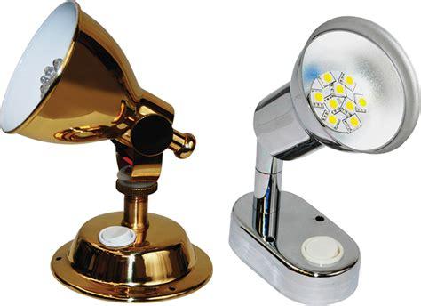 marine led cabin lights led reading light brass 50023820 seasense unified