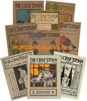 stickleys  craftsman magazine   volumes