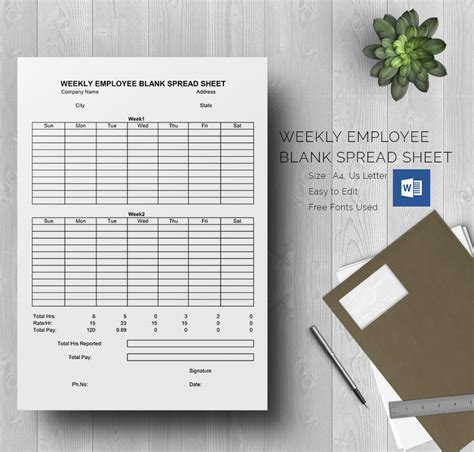 blank spreadsheet template   word excel
